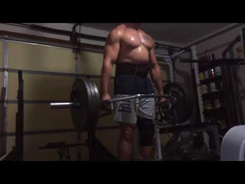 350 Lbs X 20 Trap Bar RDL