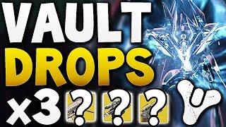 Destiny - Vault Hard Drops x3 (Week 16)