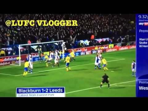 PONTUS JANSSON'S LAST MINUTE WINNER | LEEDS UNITED VS BLACKBURN ROVERS 2017!!