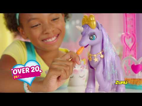 New from ZURU Pets Alive | My Magical Unicorn | Real Robotic Unicorn with Over 20 Ways to Interact!
