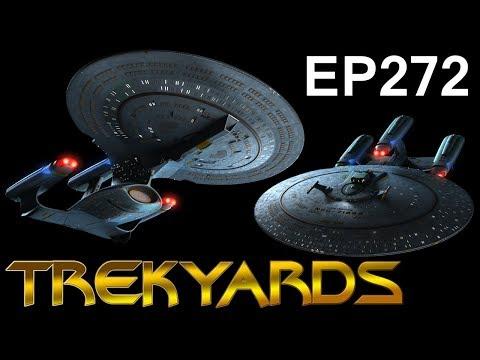 Trekyards EP272 - Galaxy Dreadnought/Galaxy X