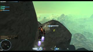 Firefall Beta [PC] top the game, why not jump?
