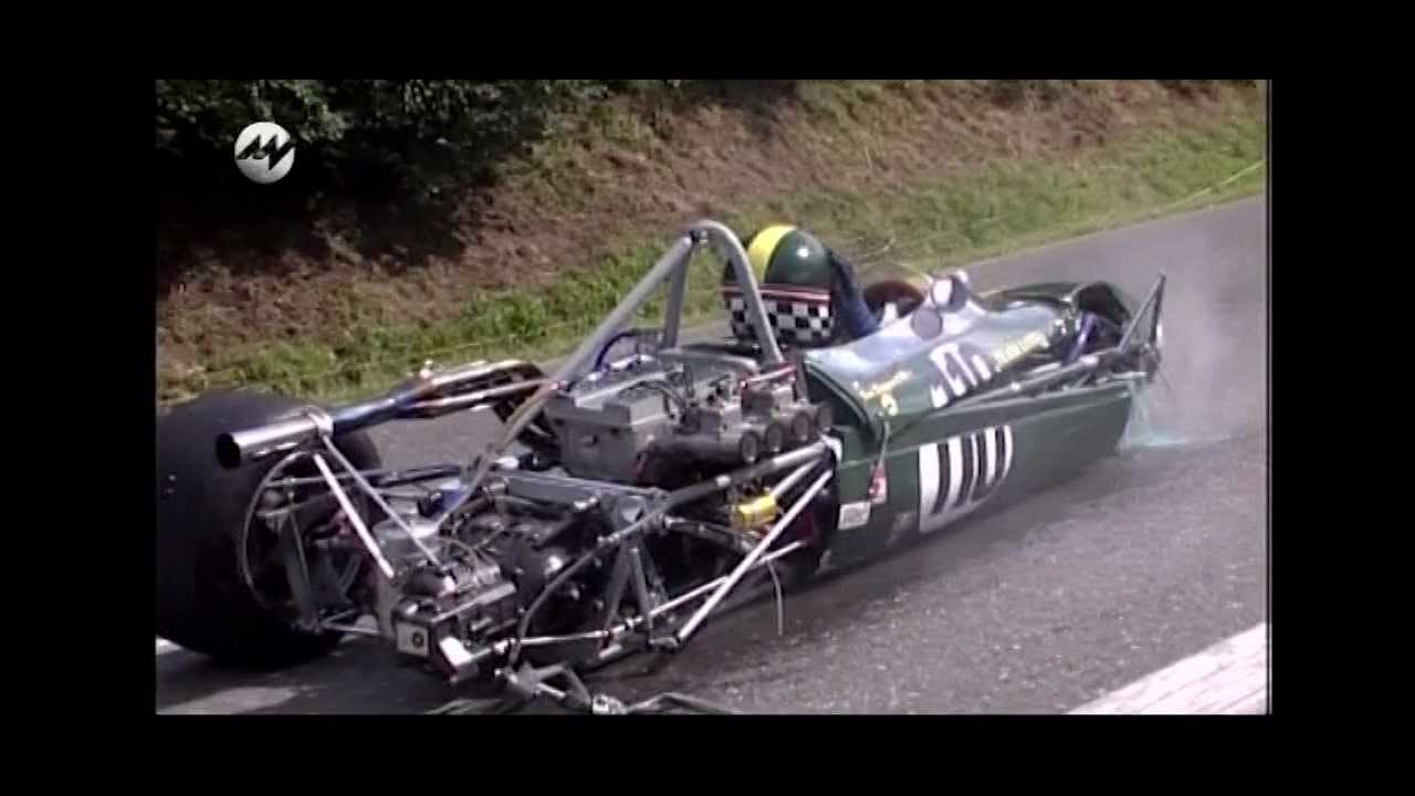 Classic Race Car Crash Hill Climb Youtube
