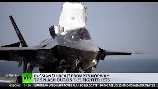 Norway gets its first F-35 jets from US, citing 'increased Russian activity'