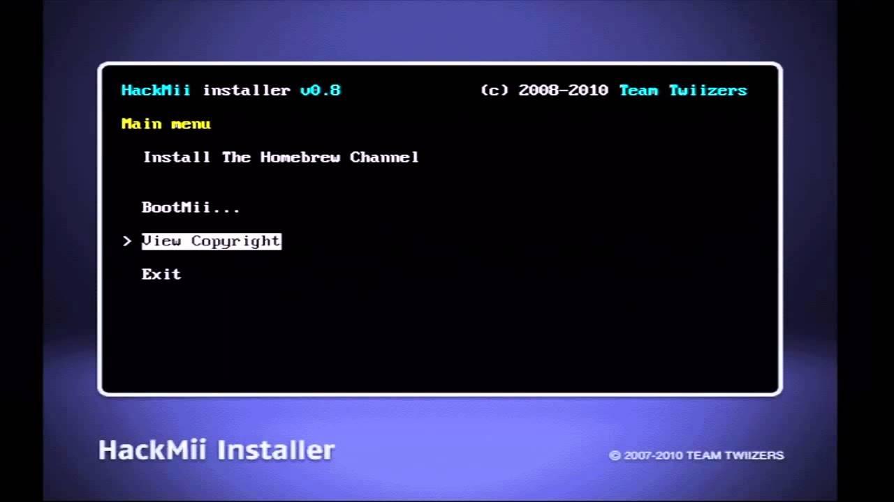 hackmii installer v1.2 guide