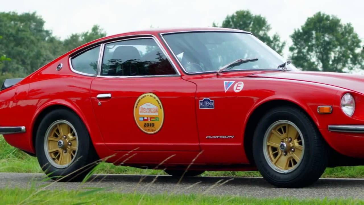1972 Datsun 240 Z rally car for sale a vendre verkauf te ...