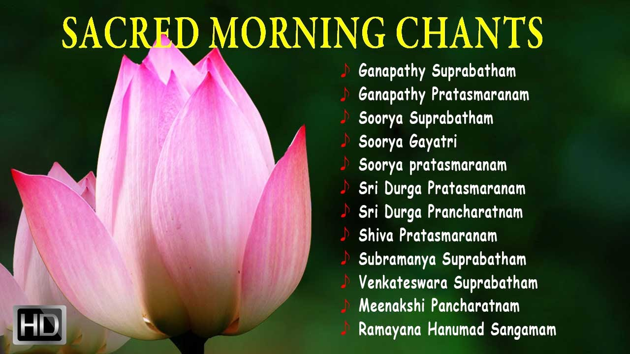 Sacred morning chants powerful sanskrit slokas jukebox youtube mightylinksfo