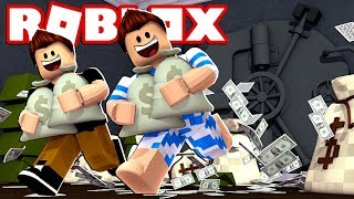 WE INVADED A BANK IN ROBLOX!!