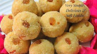 Pressure Cooker Sooji Laddu Recipe in Hindi - Simple Rava Ladoo Recipe/ How to make Sooji Laddu
