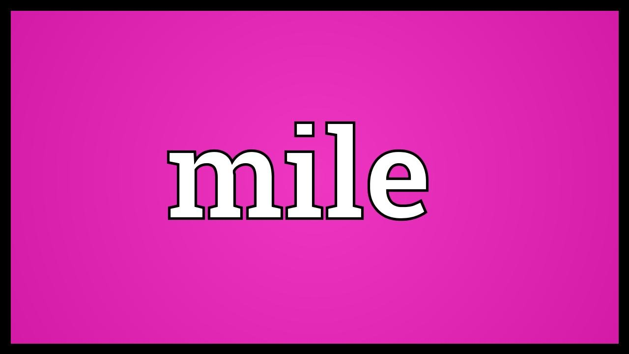 What is mile 50