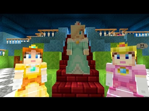 Minecraft Wii U - Super Mario Series - Mario's New Girlfriend  [42]