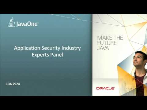 Application Security Industry Experts Panel