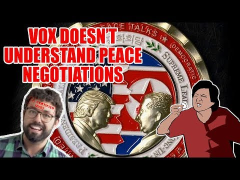 Vox Doesn't Understand Peace Negotiations