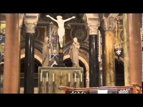 Cathedral Basilica Of St Louis Tour with the 7,621 pipes of the Organ as background Audio