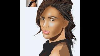 Curso deCorel Draw x6 como vetorizar fotos de pessoas no Corel parte 1