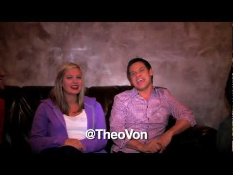Green Room Gang-Up at the Palm Beach Improv: Christina Pazsitzky & Theo Von!