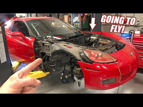 BIG CHANGES For The Auction Corvette! 1000+ Bald Eagles Incoming!