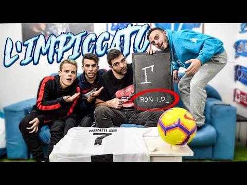Il gioco dell'IMPICCATO con i CALCIATORI!!!  w/Fius Gamer, Ohm, Enry Lazza