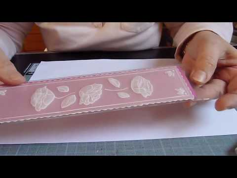Scrapbooking : tuto pour faire un marque-pages en pergamano