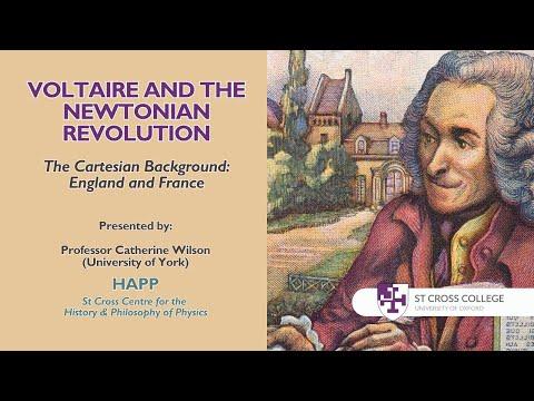 Voltaire and the Newtonian Revolution, HAPP Centre - Professor Catherine Wilson