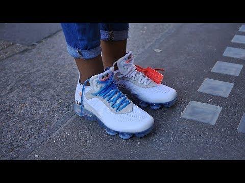 Nike x Virgil Abloh's Off White The Ten: Air Vapormax White On Feet - Too many?
