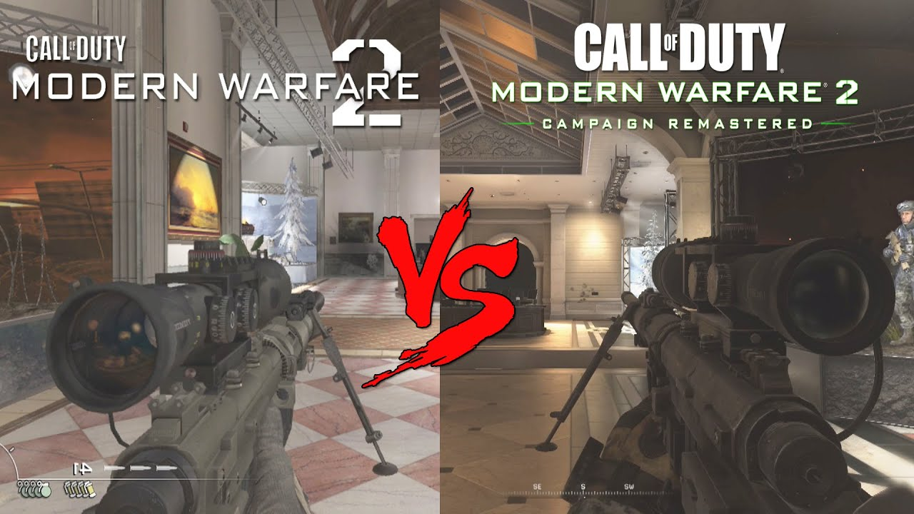 Modern Warfare 2 Remastered All New Weapon Sounds Reloads Vs Old