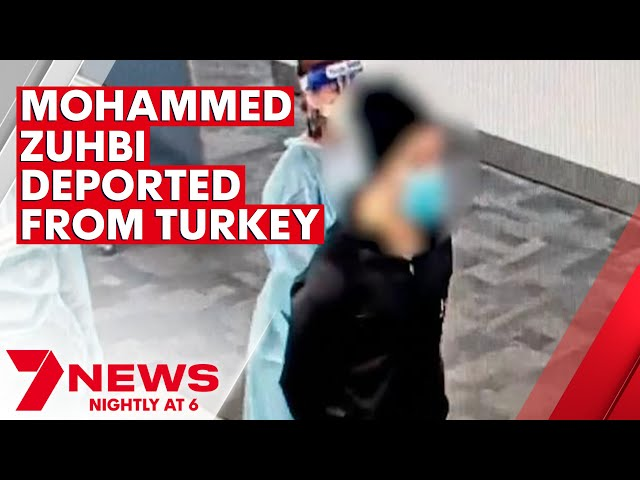 Mohamed Zuhbi deported to Australia from Turkey accused of recruiting for Islamic State | 7NEWS