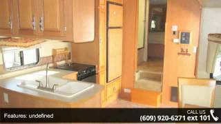 2008 Forest River Cardinal 33le Triple Slide Rear Living Room
