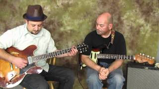 Country Guitar Lessons - Banjo Roll Guitar Lick Lesson