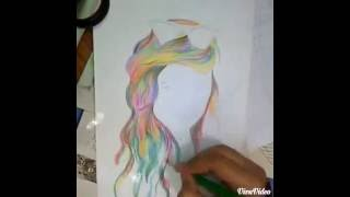 Chachi Gonzales Speed Pencil Drawing