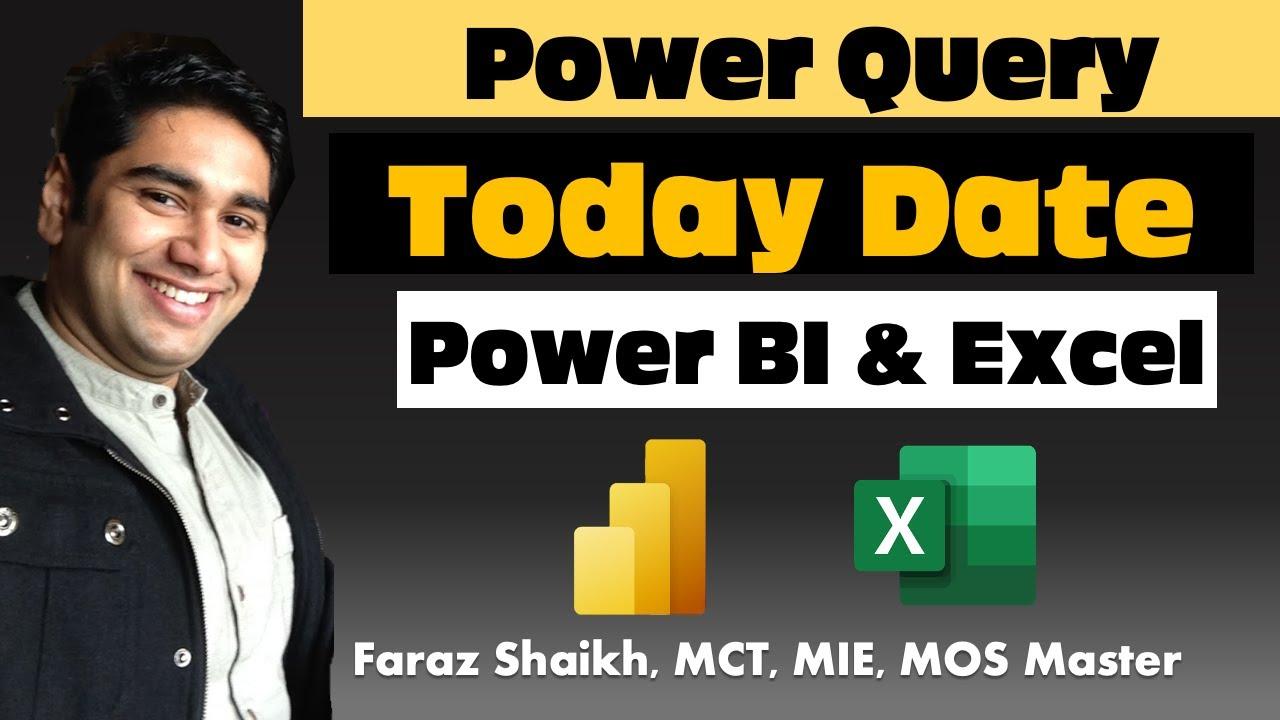 Power bi current date