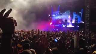 Skrillex - Cinema Remix [LIVE] @GAROROCK 2014