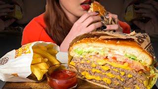 버거킹 스태커4 와퍼 먹방 리뷰(가격&칼로리),…