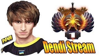 Dendi Dota 2 Try Hard Immortal Rank Match Live Stream