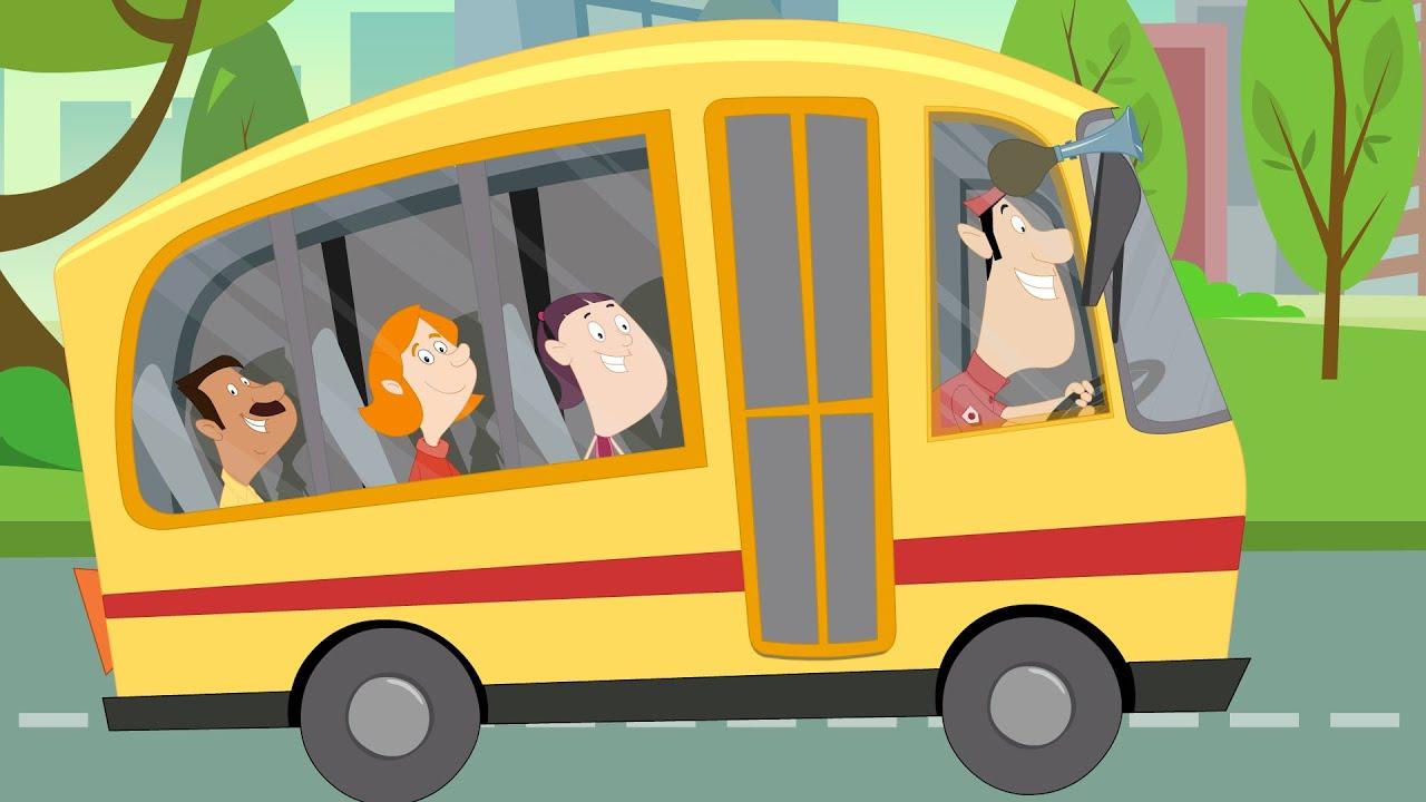 Wheels On The Bus | Nursery Rhymes - YouTube