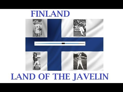 Finland: THE LAND OF THE JAVELIN .