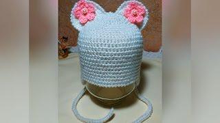 Детская шапка крючком. Crochet baby hat.(ВСТУПАЙТЕ В ГРУППУ ВКОНТАКТЕ:http://vk.com/club107727530 И В ОДНОКЛАССНИКАХ: http://ok.ru/group/52589815660648 Также можете посмотрет..., 2016-01-25T11:51:47.000Z)