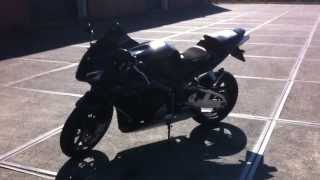 Honda CBR 600 RR Black Edition (laser exhaust)