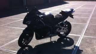 Honda CBR 600 RR Black Edition (laser exhaust)