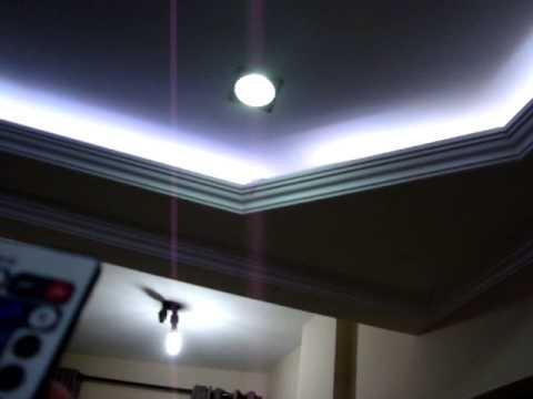 Fita de LED RGB 5050  Light Strip  no meu teto  YouTube