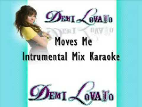 Demi Lovato- Moves Me Intrumental Mix (Karaoke)