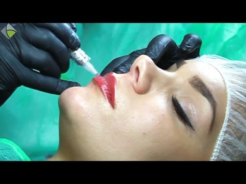 Teil 2 Permanent Make Up Lippen Berlin Lippenmodellierung Mit