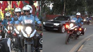 Xi Jinping Nepal Visit After Vvip Security Demonstration II सी जिनपिङको सवारी सुरक्षा पूर्व अभ्यास