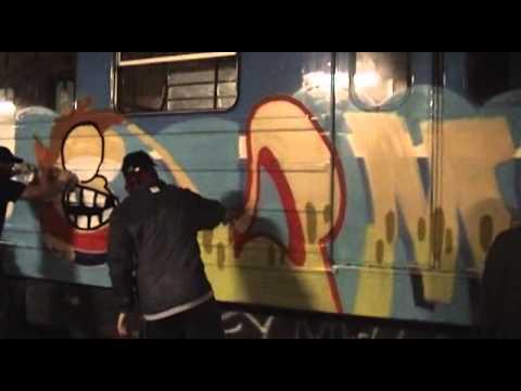 Stockholm Subway Stories 03-05 (2005) Graffiti FULL MOVIE + EXTRAS (Read Description)