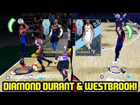 DIAMOND KEVIN DURANT & DIAMOND WESTBROOK! OKC IS BACK! NBA 2K18 MYTEAM SUPERMAX GAMEPLAY