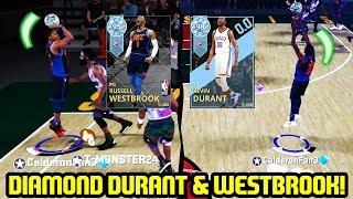 DIAMOND KEVIN DURANT & DIAMOND WESTBROOK! OKC IS BACK! NBA 2K18 MYTEAM SUPERMAX GAMEPLAY
