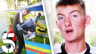 Rich Kid Ruins The Family BBQ | Rich Kids Skint Holiday | Channel 5