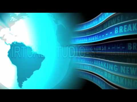 HD Television Background News Motion Animation Loop