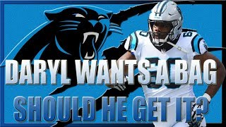 DOES DARYL WILLIAMS HAVE A FUTURE WITH THE CAROLINA PANTHERS?   @Shellitronnn
