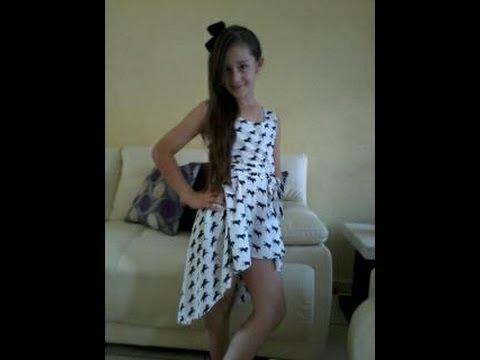 becdf20e5 Vestido De Moda Sencillo DIY Simple Fashion Dress -Jazmin Gastelum - YouTube